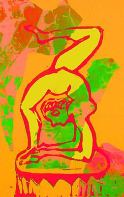 Mixed Media - Acrobat 1 by Adam Kissel