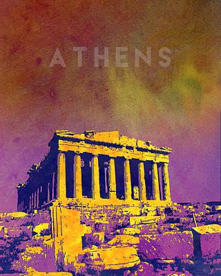Acropolis Print by Gary Grayson