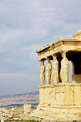 Acropolis Photograph - Acropolis Of Athens by HD Connelly