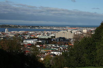 Photograph - Across City To South Dunedin by Terry Perham