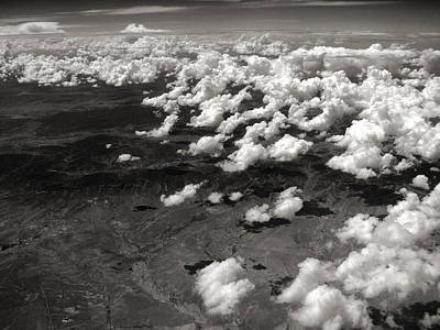 Arial View Photograph - Across The Miles II by Joanne Coyle
