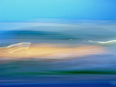 Across The Seven Seas Print by Tanya Filichkin