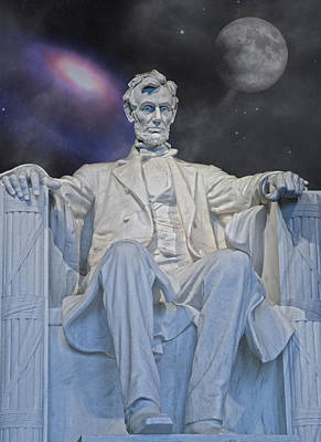 Abraham Lincoln Digital Art - Action Nature And Change by Betsy C Knapp
