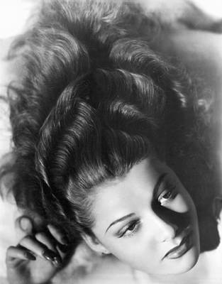 Movie Star Photograph - Actress Ann Sheridan by Underwood Archives