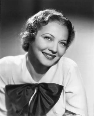 Sylvia Photograph - Actress Sylvia Sidney by Underwood Archives