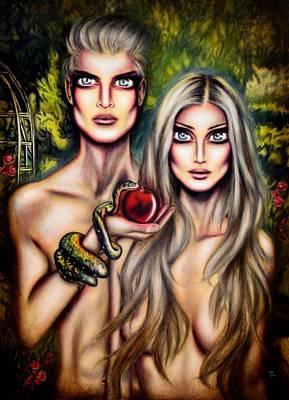 Adam And Eve Original by Tiago Azevedo