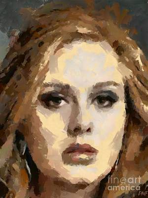 Adele Painting - Adele by Dragica Micki Fortuna