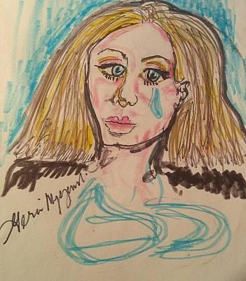 Adele Drawing - Adele  by Geraldine Myszenski