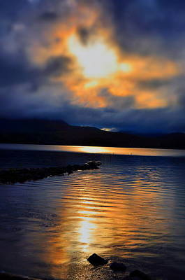 Clouds Photograph - Adirondack Peace by Emily Stauring