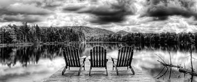 Lake Photograph - Adirondack View by David Patterson