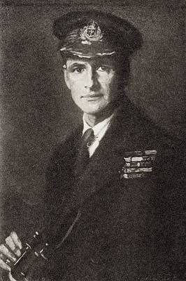 Nova Drawing - Admiral Edward Ratcliffe Garth Russell by Vintage Design Pics