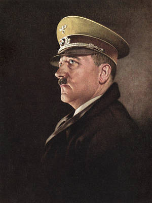 Ev-in Photograph - Adolf Hitler, Ca. 1930s by Everett