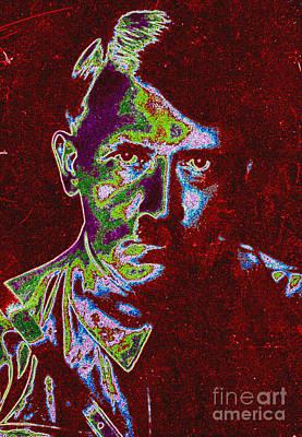 Adolf Digital Art - Adolf Hitler Pop Art by R Muirhead Art