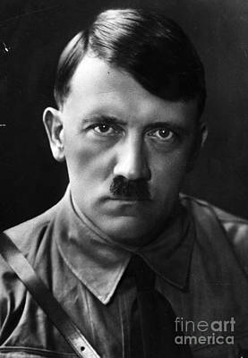 Adolf Hitler Portrait  Print by R Muirhead Art