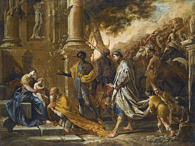 Painting - Adoration Of The Magi by Domenico Gargiulo