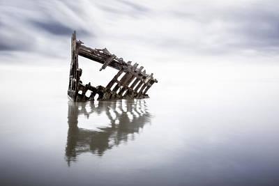Adrift At Sea Original by Eduard Moldoveanu