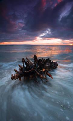 Adrift Print by Mike  Dawson