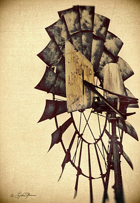 Windmill Photograph - Aerator by LeAnne Thomas