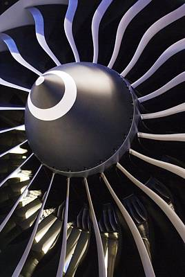 Aeroplane Engine Print by Mark Williamson