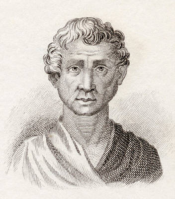 Orator Drawing - Aeschines, 389 To 314 Bc. Greek by Vintage Design Pics