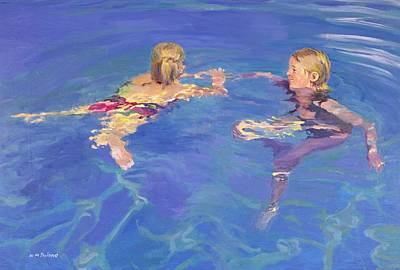 Summer Fun Painting - Afloat by William Ireland