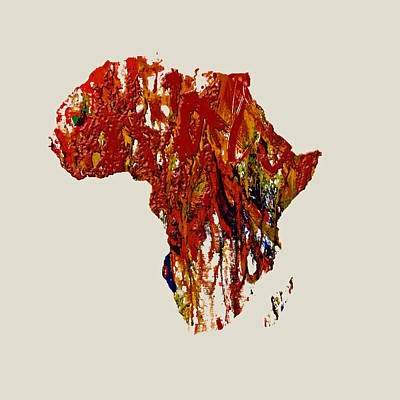 Africa 1b Print by Brian Reaves