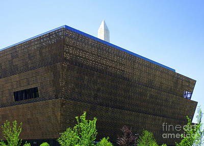 Smithsonian Museum Photograph - African American History And Culture 1 by Randall Weidner