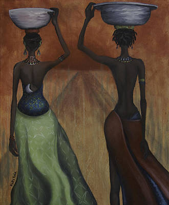 Kelly Painting - African Desires by Kelly Jade King