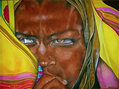 African Princess Print by Ralph Lederman