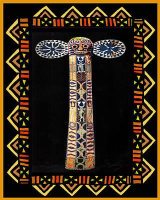 Esprit Mystique Digital Art - African Tribal Mask by Witches Hammer - Virginia Vivier
