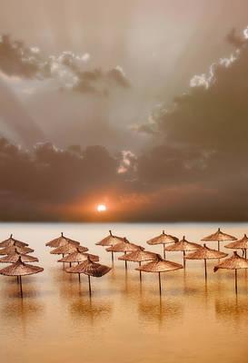 Umbrellas Digital Art - After Hours by Jacky Gerritsen