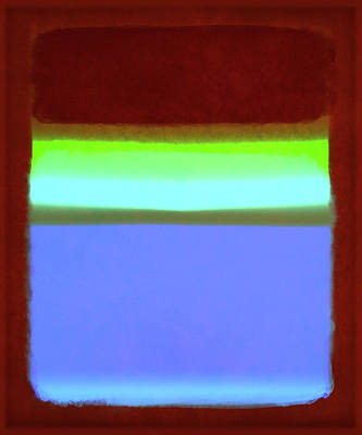 After Rothko-11 Print by Gary Grayson