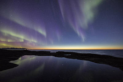 Arctic Photograph - After Sunset Iv by Frank Olsen