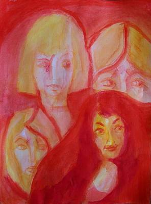 Loser Painting - After The Beauty Pageant by Judith Redman