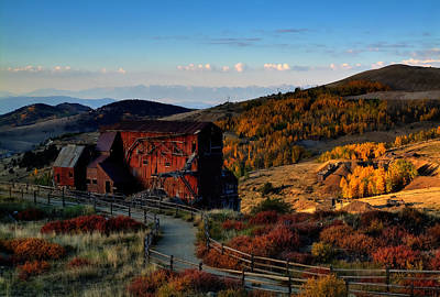 Mining Photograph - After The Gold Rush by Tim Reaves