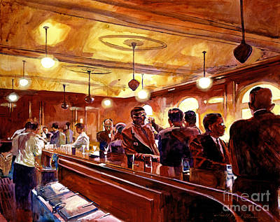 After The Market Closes Print by David Lloyd Glover
