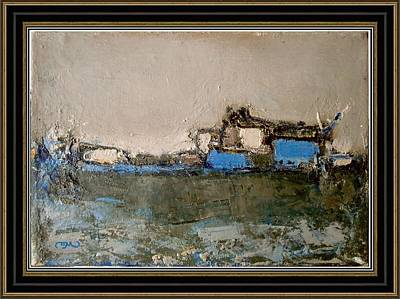 Post Impressionism Mixed Media - After The Rain. by Pemaro