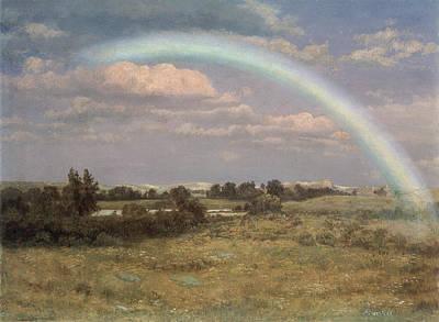 After The Storm Print by Albert Bierstadt