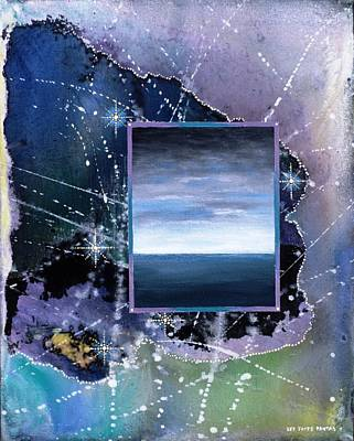 Angel Mermaids Ocean Painting - After The Storm by Lee Pantas