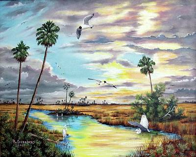 Painting - After The Storm by Riley Geddings