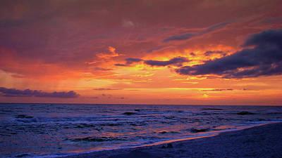 Panama City Beach Fl Photograph - After The Sunset by Sandy Keeton