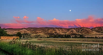 Afterglow Print by Robert Bales