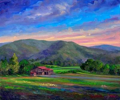 Asheville Painting - Afternoon At Claxton Farms by Jeff Pittman