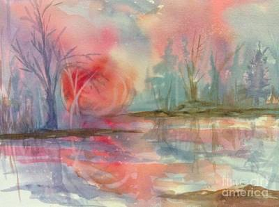 Waterscape Painting - Afternoon Delight by Ellen Levinson