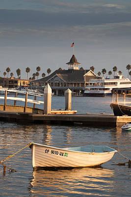 Afternoon Light Balboa Island Print by Cliff Wassmann