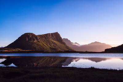 Afternoon Reflections Print by Tor-Ivar Naess