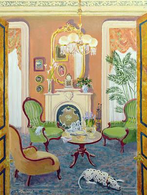 Afternoon Tea Print by William Ireland