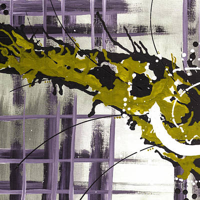 Abstract Painting - Against My Will 5 by Melissa Smith