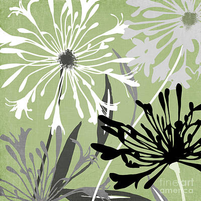 Agapanthus Painting - Agapanthus by Mindy Sommers