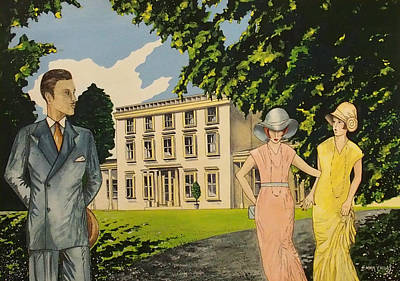 Agatha Christie Life Original by Emma Childs